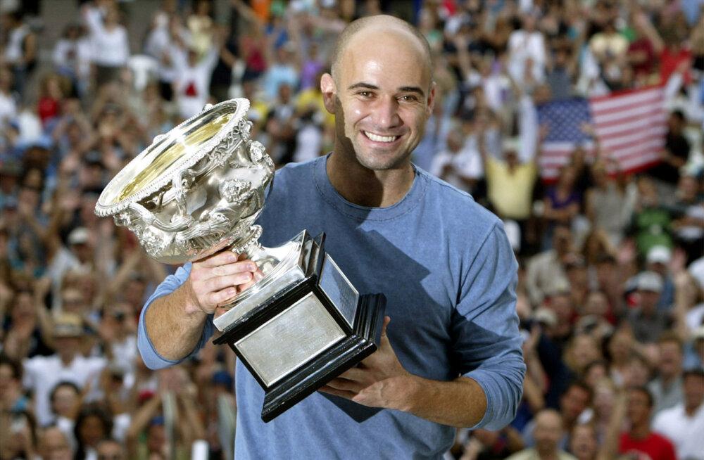 VIKTORIIN | Kui hästi tunned 50-aastast juubelit pidavat tenniseässa Andre Agassit?