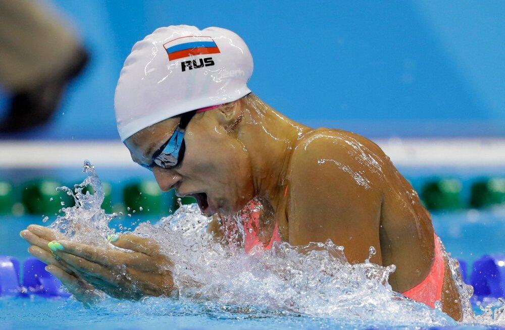 Venemaa ujuja Julia Jefimova.
