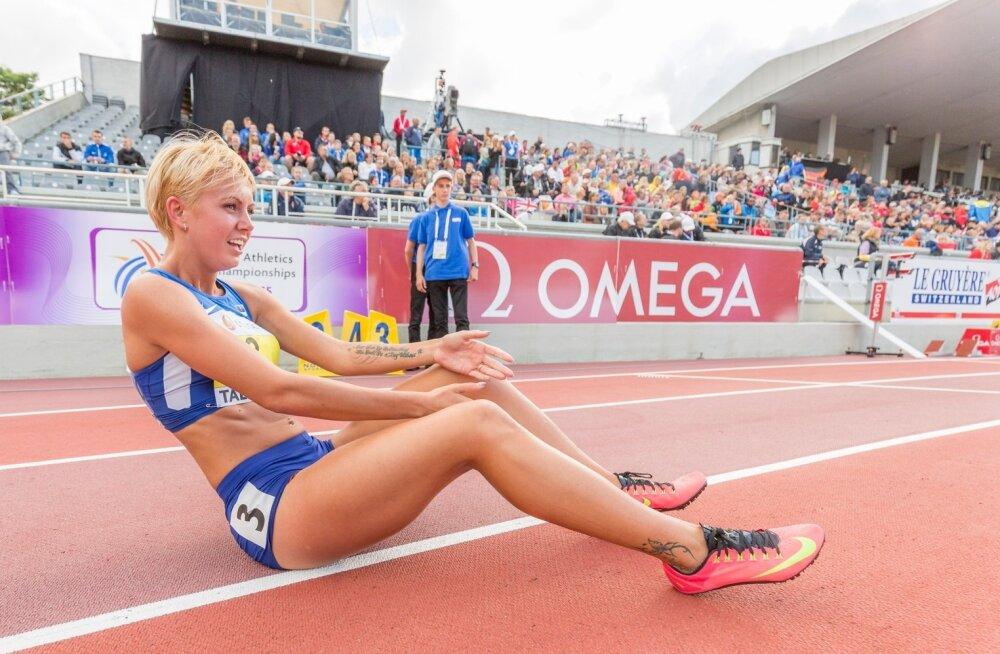 Grete Griffin (toona veel Šadeiko) 2015. aasta U23 kergejõustiku Euroopa meistrivõistlustel Kadriorus