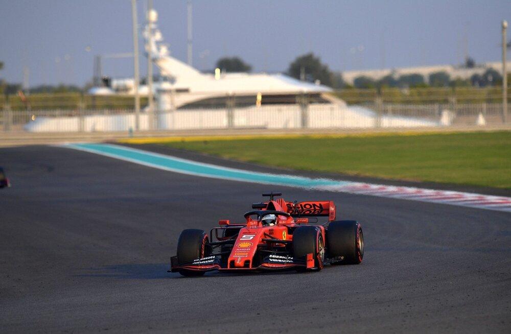VIDEO | Vettel ja Perez põrkasid Abu Dhabi testisõidul kokku
