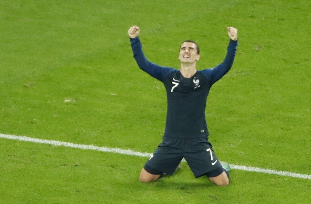 BLOGI | Esimene finalist selge! Prantsusmaa võitis Umtiti väravast Belgiat 1:0
