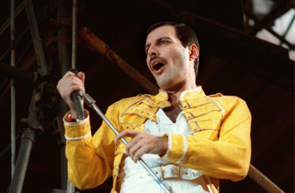 Õõvastav tõde: Queeni solist Freddie Mercury kaotas AIDSi tõttu jala