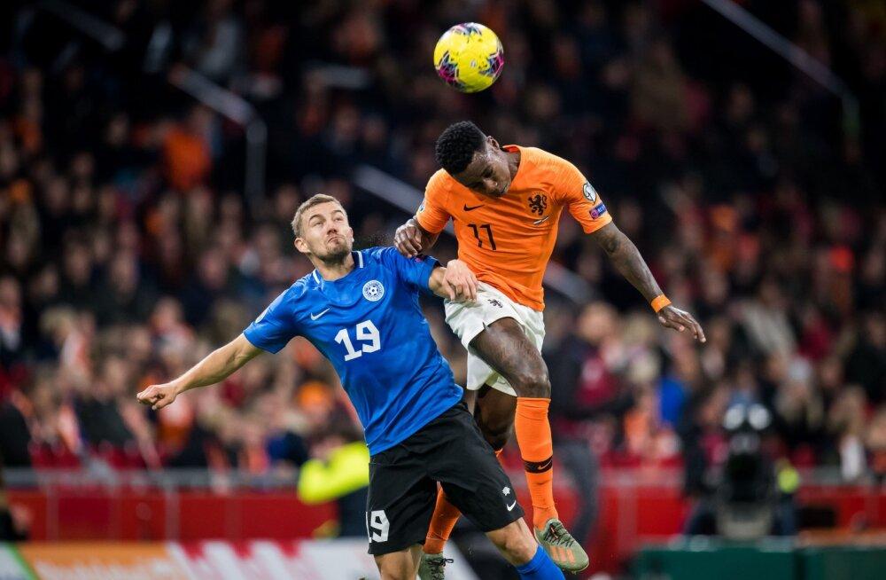 DELFI AMSTERDAMIS | Ken Kallaste: pigem kaotan sellise mänguga 0:5 kui pikka palli ette pekstes 0:2