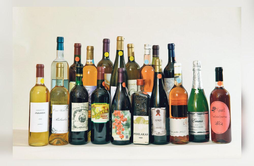 Algab koduveinikonkursi veinide kogumine!