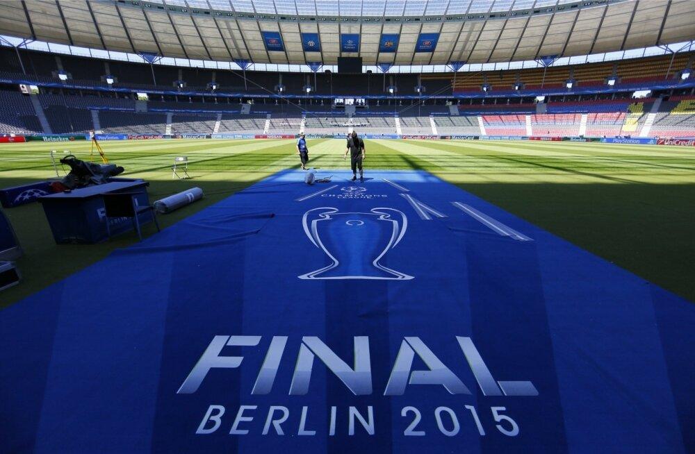 Berliini olümpiastaadion valmistub Meistrite liiga finaaliks