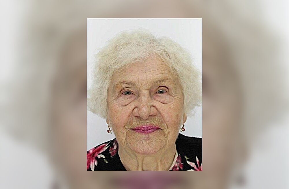Пропавшая в Таллинне 86-летняя Зинаида найдена