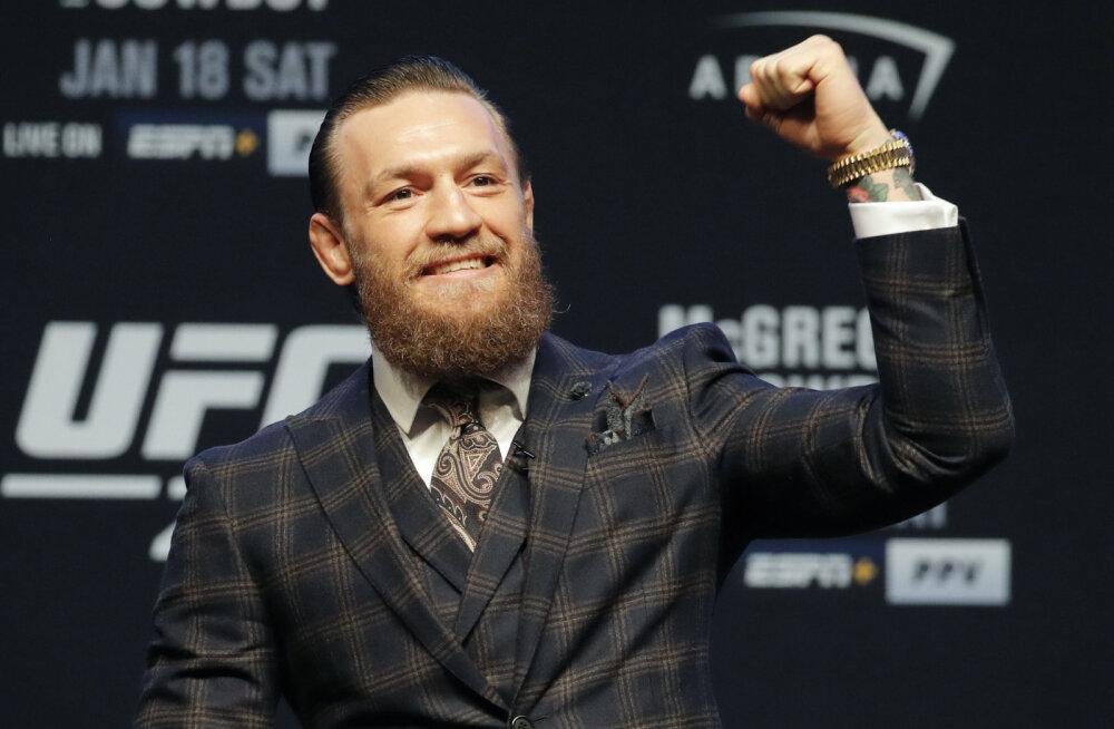 Conor McGregor sai tagasitulekumatši eel suurepärase uudise