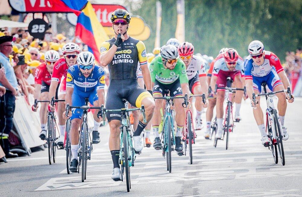 Tänavusel Touril juba teise etapi võitnud Dylan Grönewegen