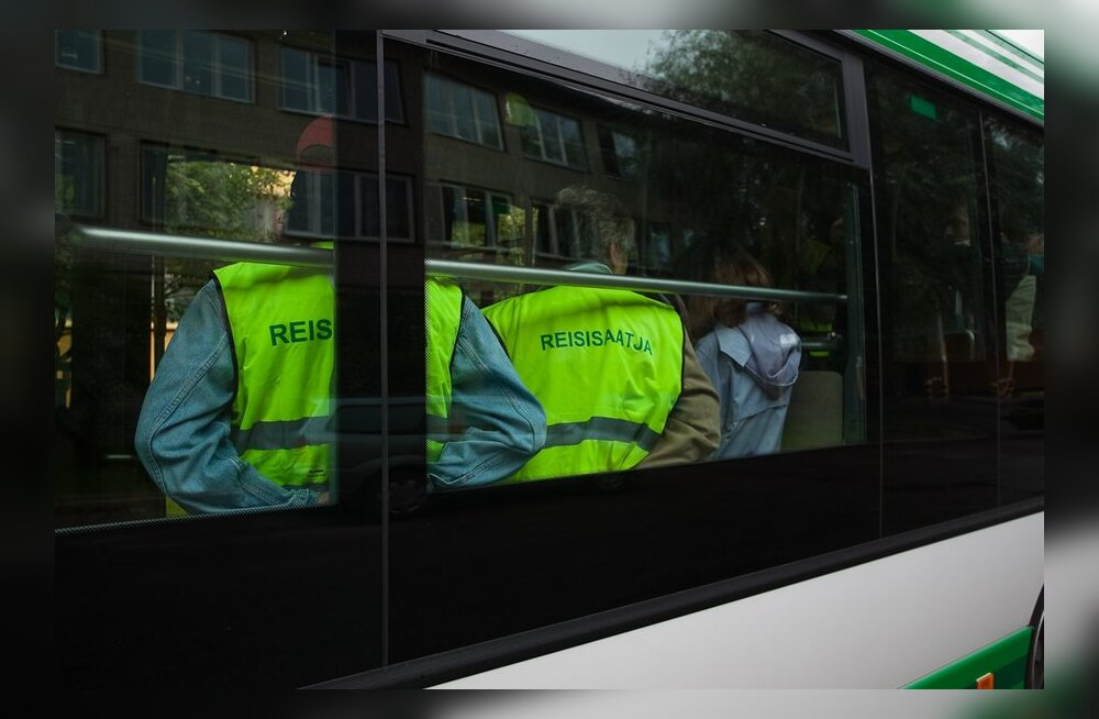 Uuest aastast pole Tallinna ühistranspordis enam ühtki reisisaatjat