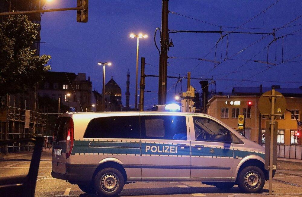 Saksa erakonna AfD kontori juures toimunud plahvatusega seoses vahistati kolm inimest