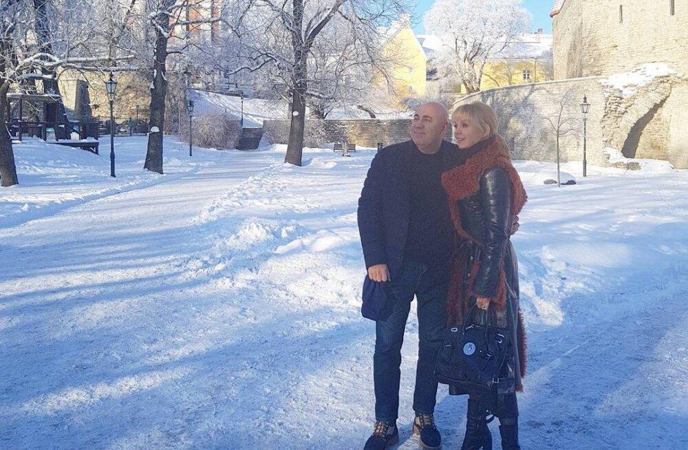 ФОТО: Валерия в Таллинне, или Зимняя эстонская сказка