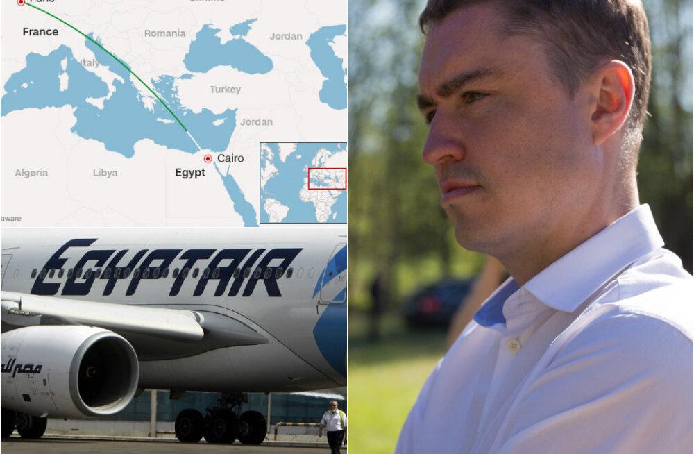 HOMMIKU-UUDISED: peaministri reiting on taas langenud, Kairosse teel olnud EgyptAiri reisilennuk kadus radaritelt