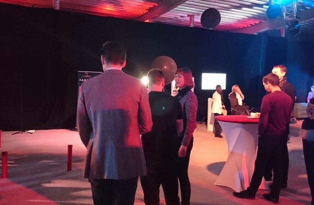 President Kersti Kaljulaid TEDxLasnamäe konverentsil