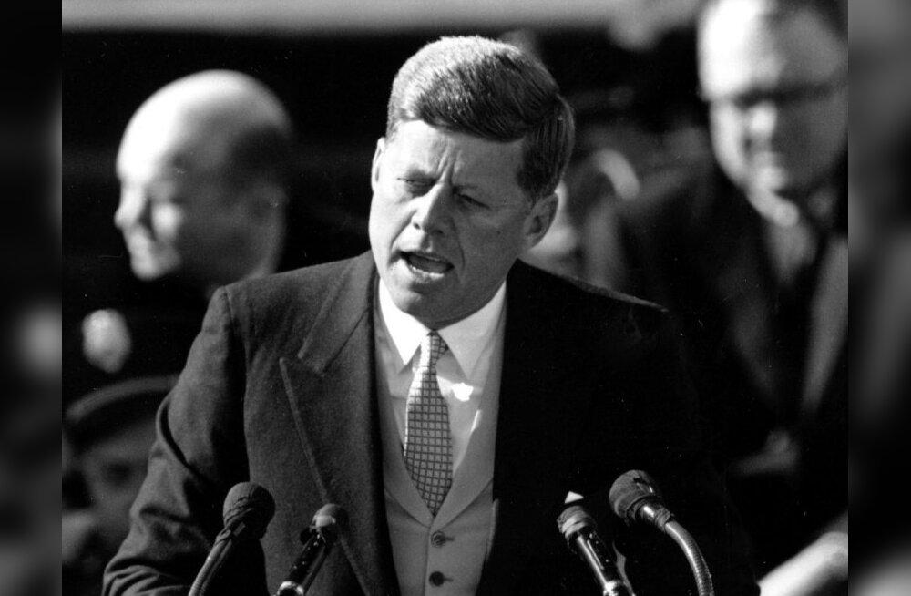 Kennedy 1960. aastal ihukaitsjatele: keegi ei kavatse mind tulistada, rahunege!