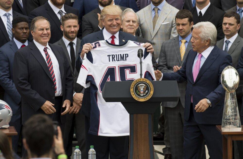 Kaheksa Super Bowli võitnud treener keeldus Trumpi pakutud kõrgeimast tsiviilautasust