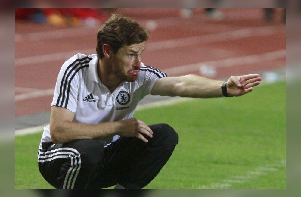 Liverpool loodab peatreeneri pingil näha André Villas-Boas'i