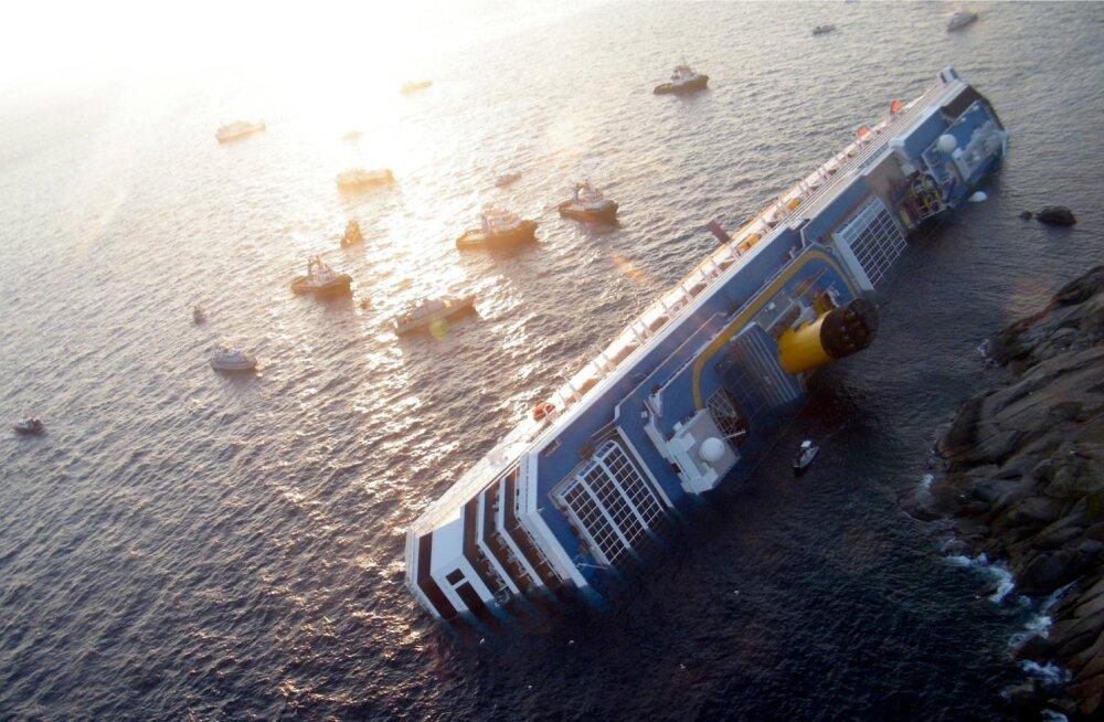 Uurijad: karile sõitnud Costa Concordial veeti Calabria maffia kokaiini