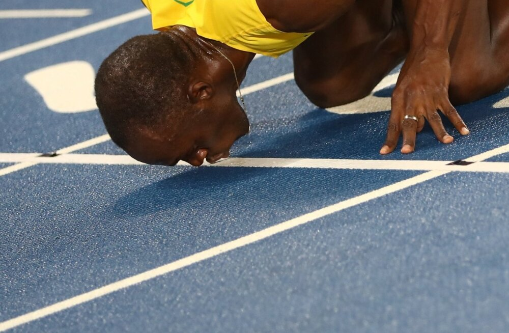 Usain Bolt annab tartaanile suud. Keda hakkab kergejõustik tulevikus sama palavalt vastu armastama?