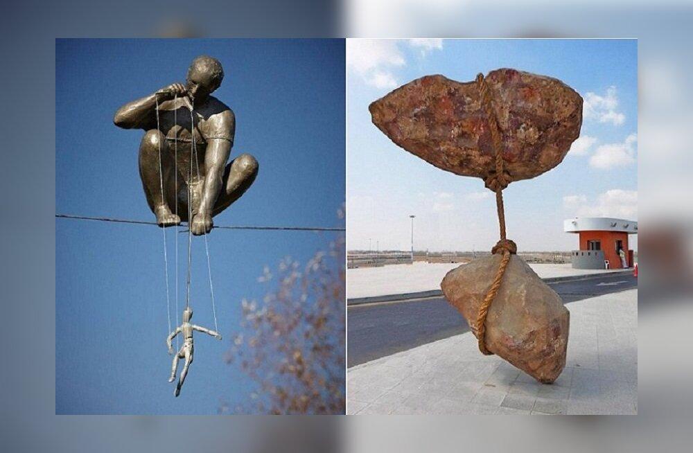 Вопреки гравитации: 10 скульптур, нарушивших законы физики
