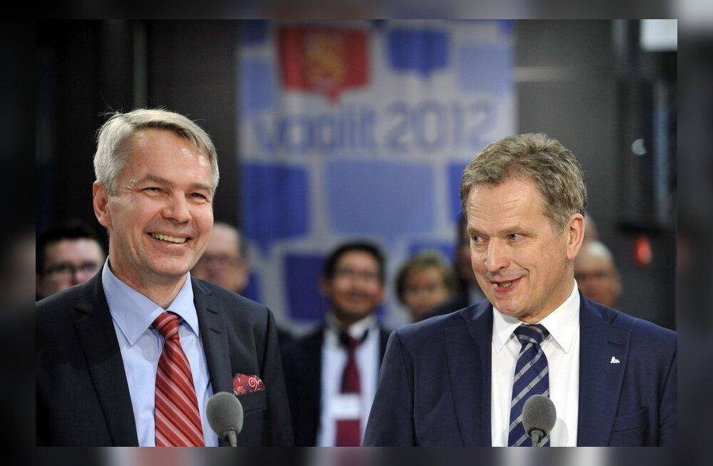 DELFI GRAAFIK: Soome presidendivalimiste esimese vooru tulemused