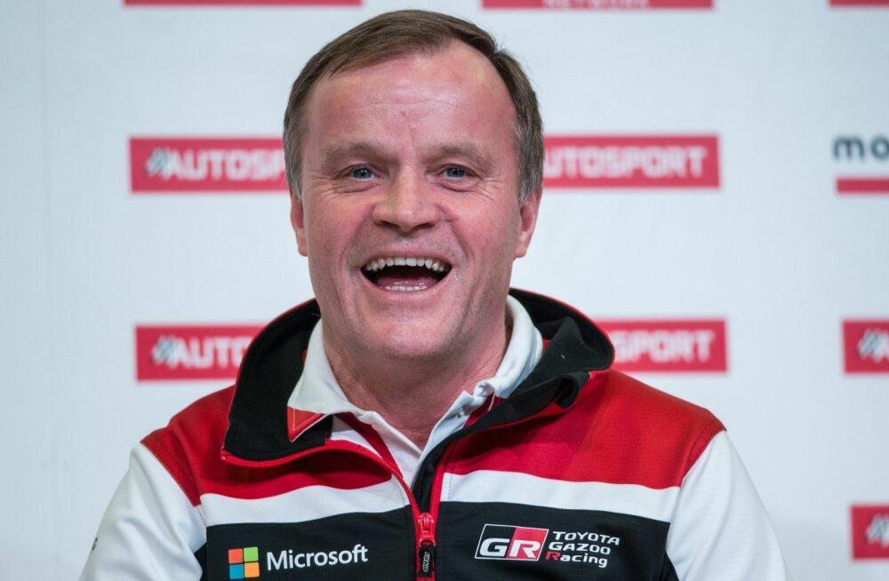 Tommi Mäkinenil on põhjust rõõmustamiseks.