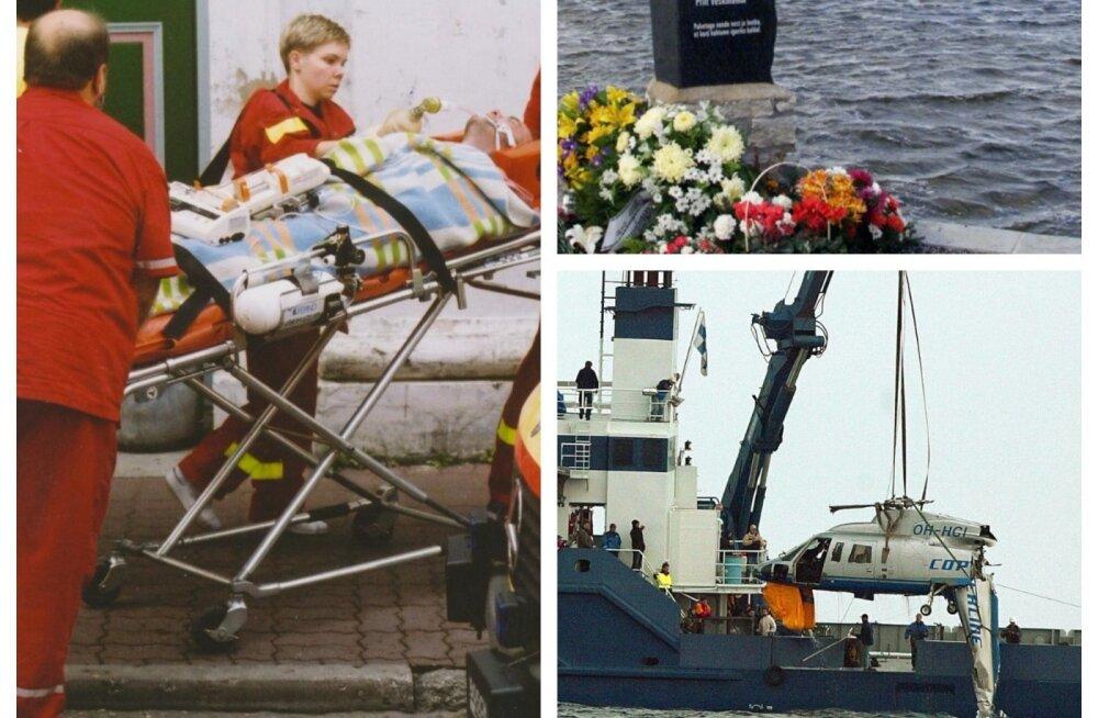 EV 100 nädalat | Kolm suurt tragöödiat, mis viimase 20 aasta jooksul on Eestit vapustanud