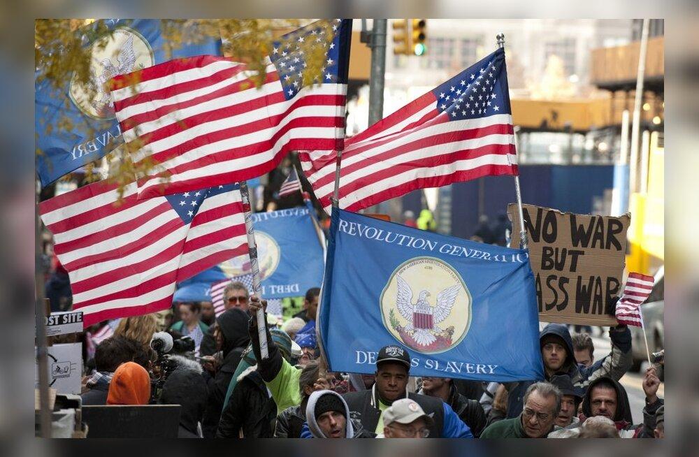 Meeleavaldajad kavatsevad neljapäeval kogu Wall Streeti sulgeda
