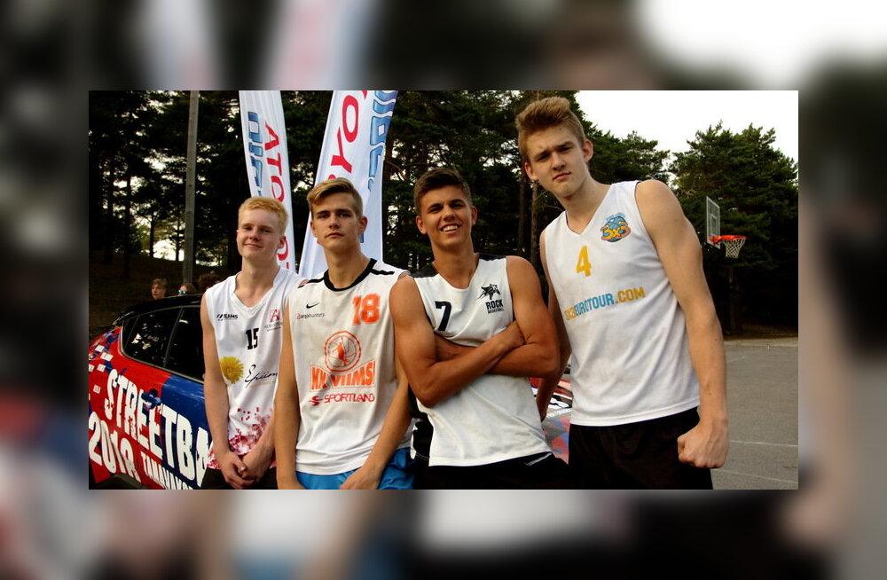 U18 tänavakorvpallikoondis sai EM-finaalturniirile otsepääsme