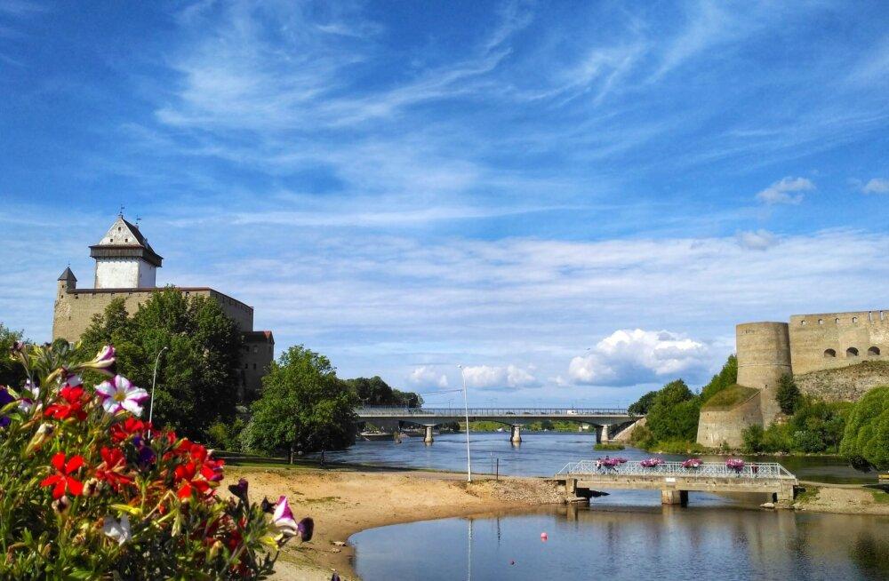 """Projekti """"River promenades III"""" raames rajatav Narva-Ivangorodi jõepromenaad."""