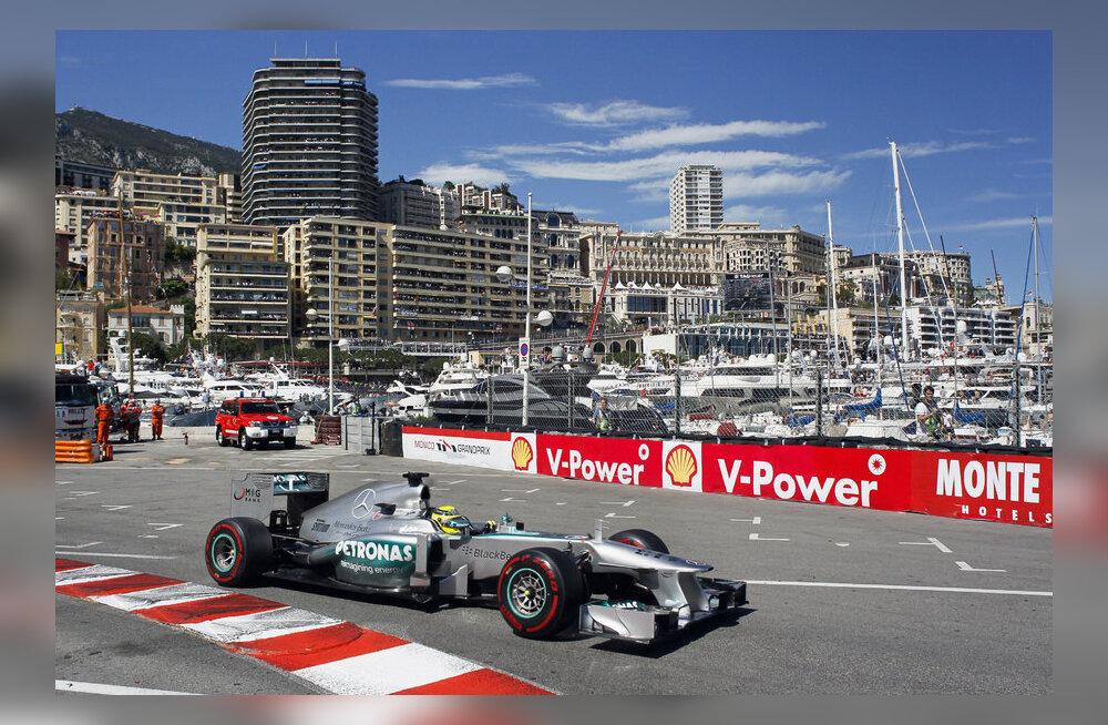 Nico Rosberg Monacos