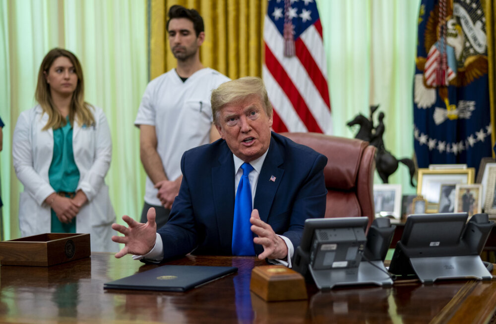 Trumpi sõnul on koroonaviirus hullem rünnak kui Pearl Harbor või 9/11