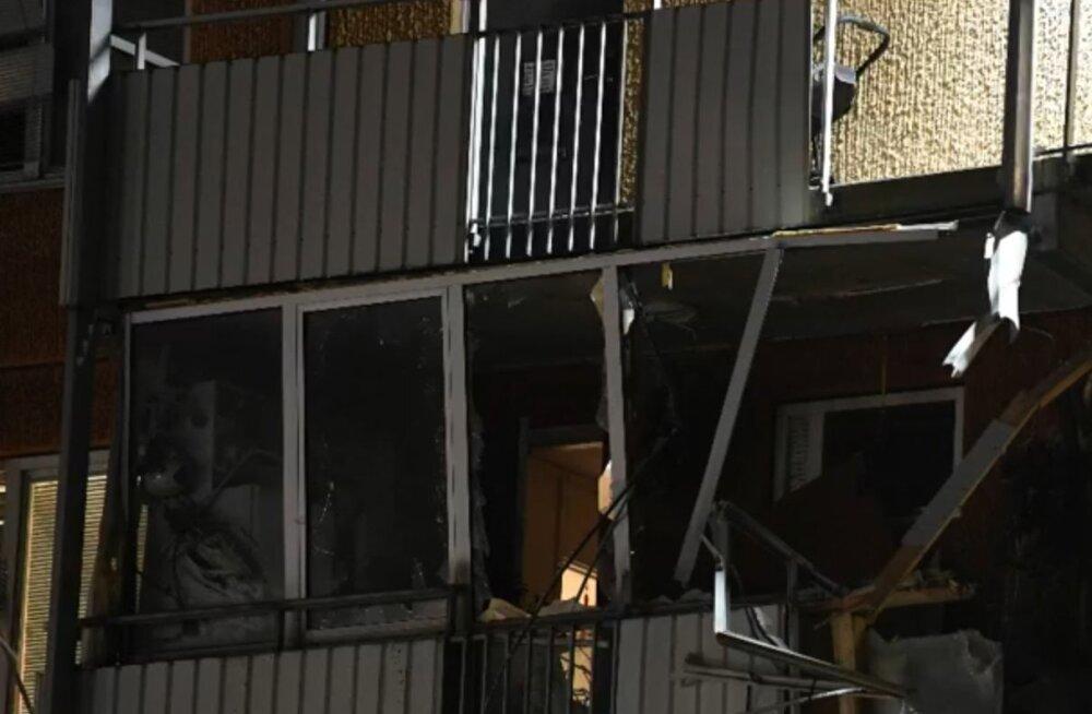 Stockholmi loodeosas toimus öösel kaks plahvatust