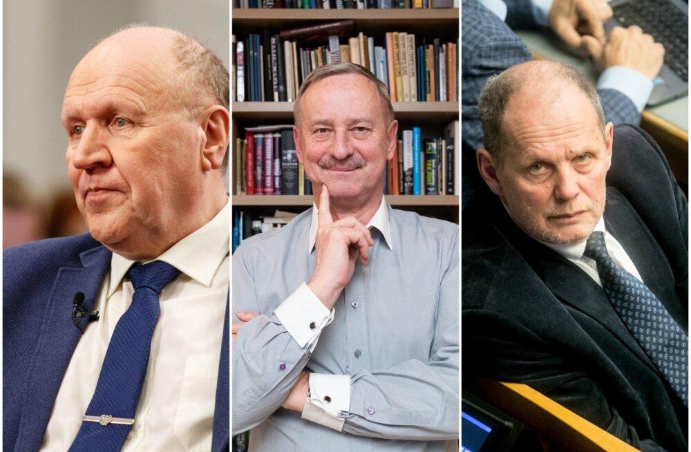 GRAAFIK | Vaata, kes on riigikogu valimistel võidutsenud seeniorpoliitikud