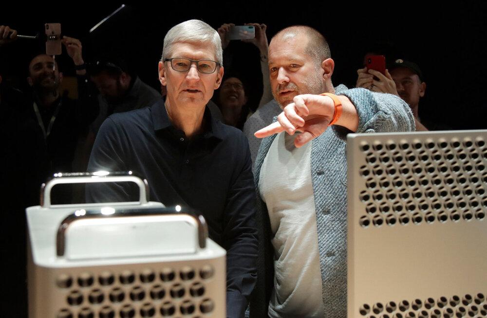 Apple'i peadisainer lahkus firmast, kuna Apple'i juhti ei huvitanud tootedisain