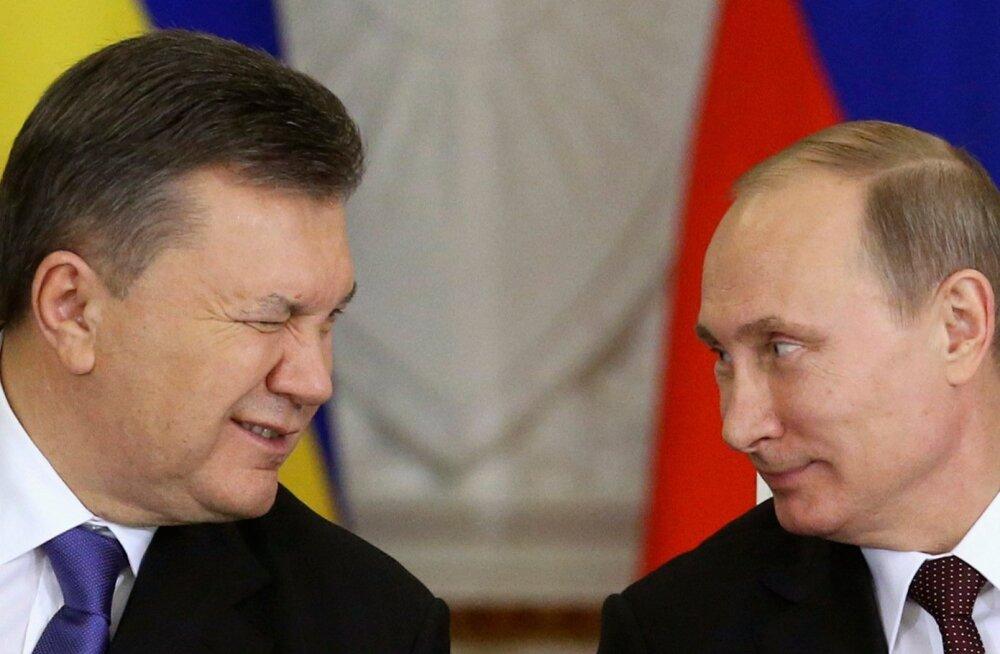 Janukovõtš ja Putin