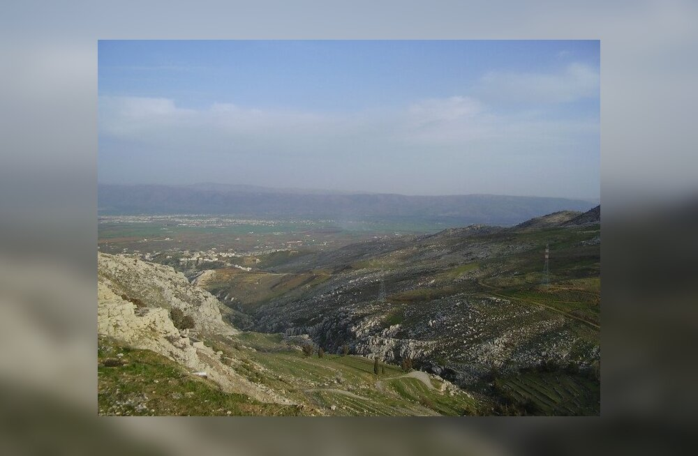 FOTOD: Selline näeb välja Bekaa org ja Zahle linn
