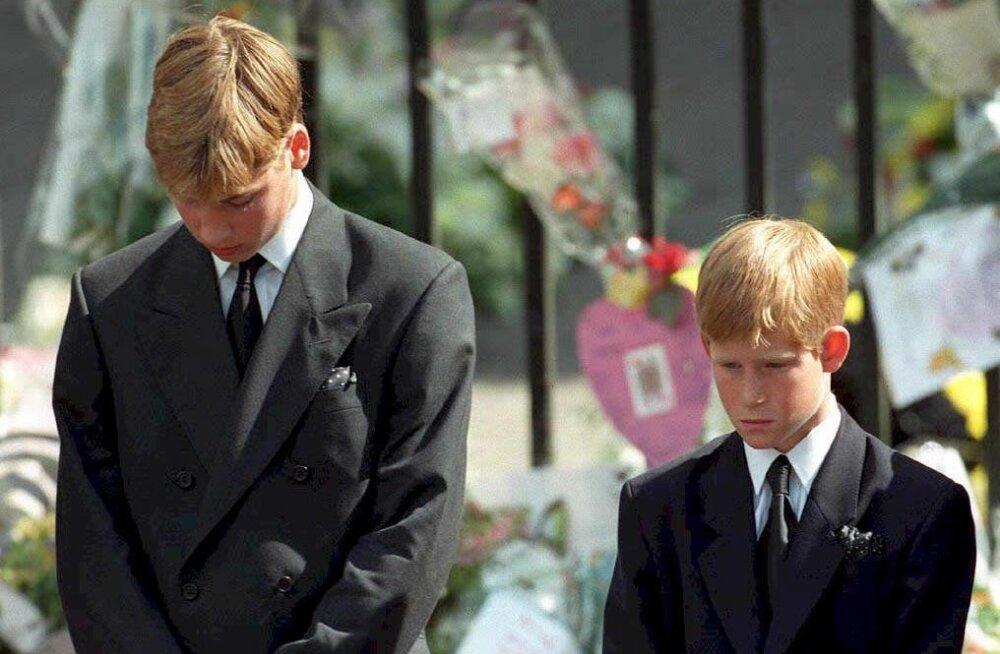 Prints Harry ja William meenutavad viimast vestlust emaga: ma kahetsen seda oma elupäevade lõpuni