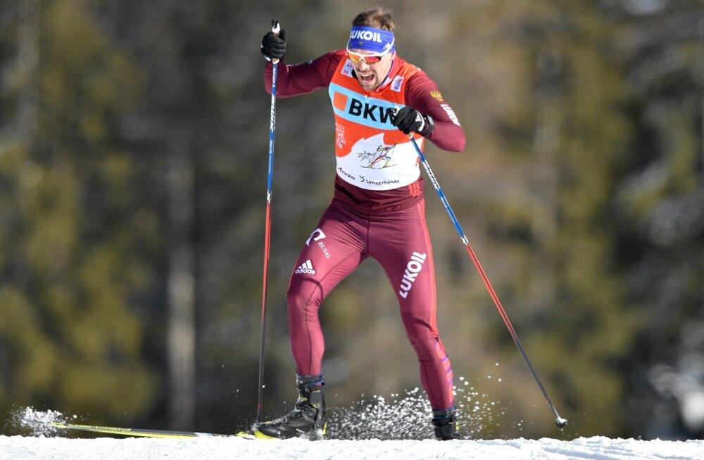 Sergei Ustjugov võidu poole rühkimas.