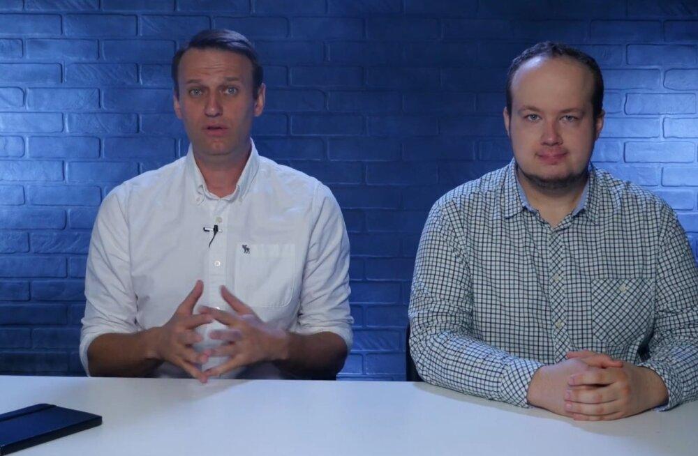 Vene opositsioonipoliitik Navalnõi uus video kogub populaarsust