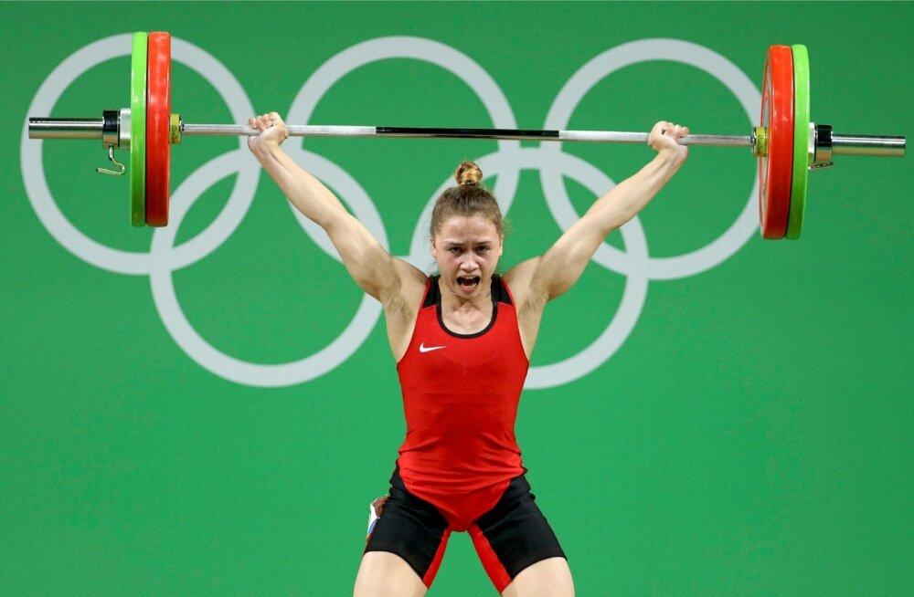 Rebeka Koha Rio de Janeiro olümpiamängudel.