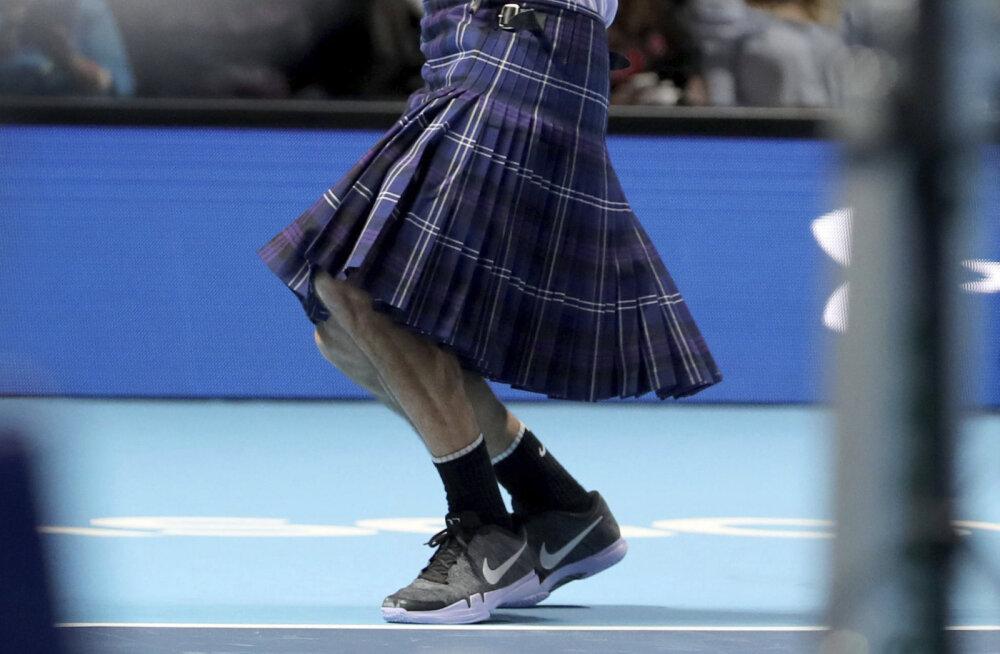 VIDEO | Roger Federer mängis Andy Murray vastu seelikus