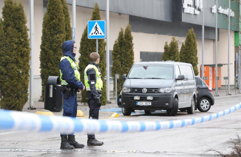 Полиция разыскивает человека, разославшего письма с угрозами таллиннским торговым центрам и предприятиям