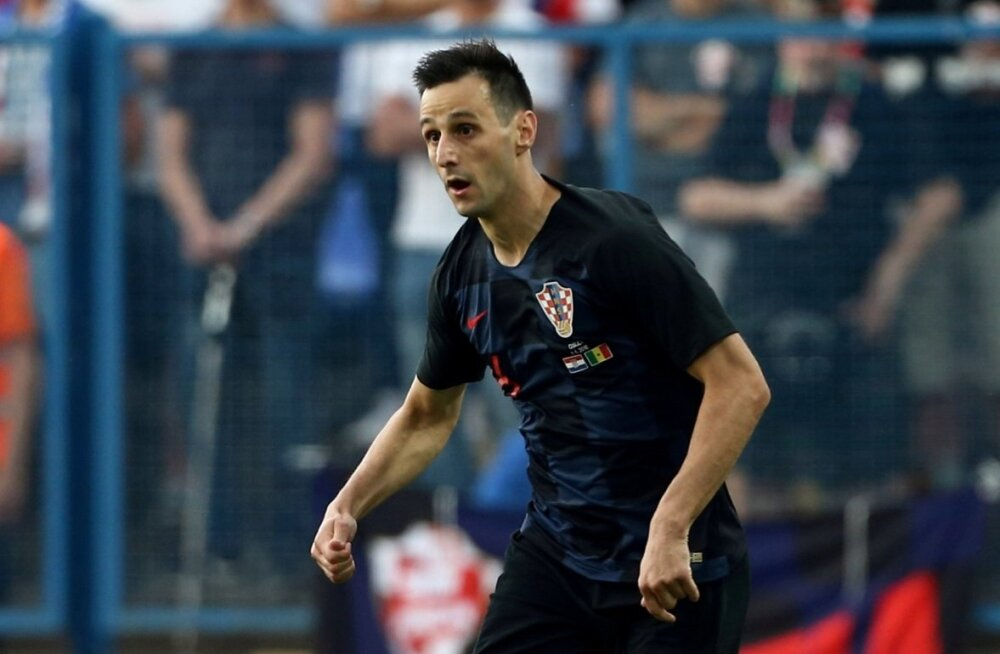 Horvaatia ründaja Nikola Kalinic.