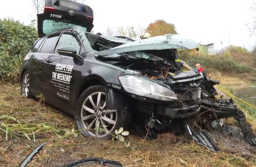 Saksamaal hukkus avariis Eesti mees, surma sai ka kaassõitja