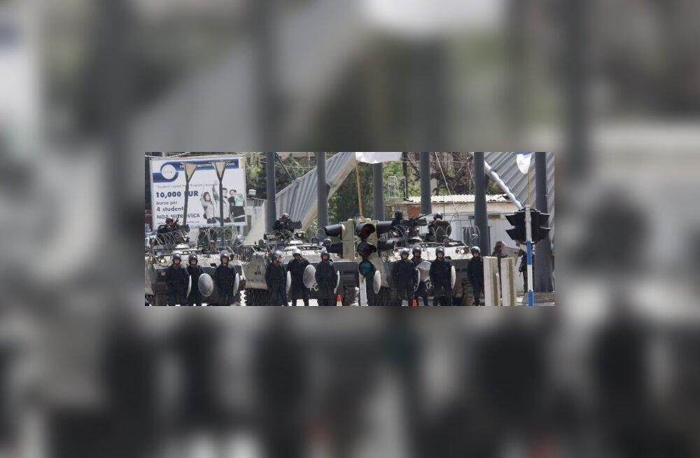 Europolitsei ajas vägivallaga Kosovo serblased laiali