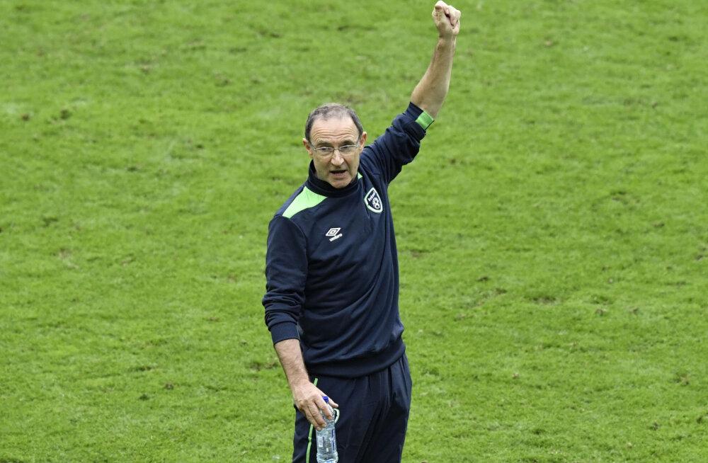 Iirimaa peatreener: tulime Ibrahimoviciga hästi toime