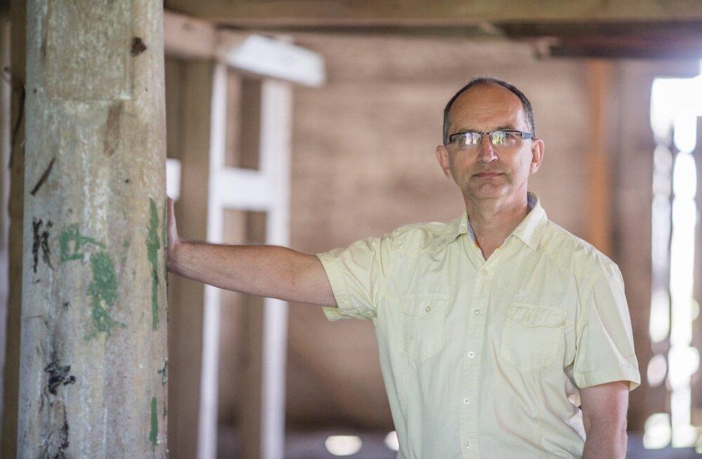 ФОТО и ВИДЕО: Мечта пианиста Лаури Вяйнмаа — восстановить церковь, чтобы рассказать историю