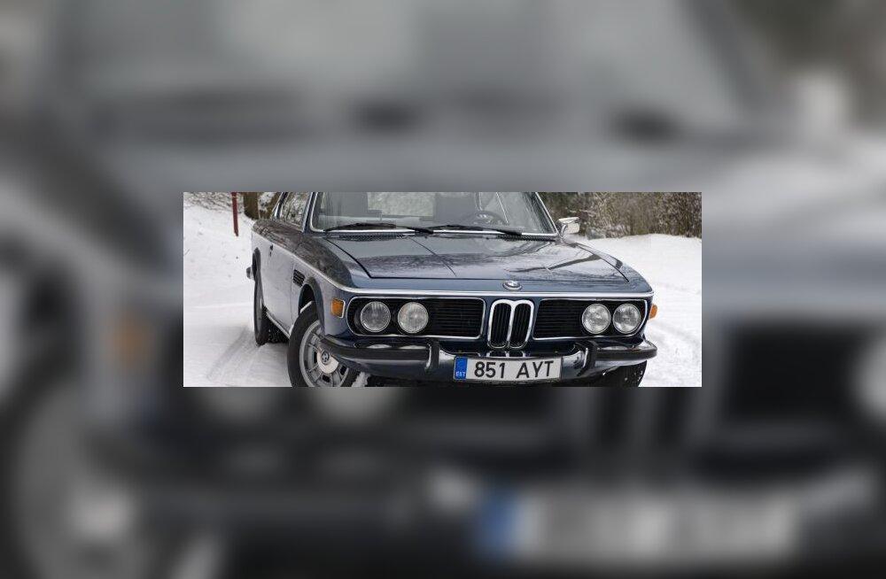 40-aastane BMW E9 kupee - sõidurõõmu tänini