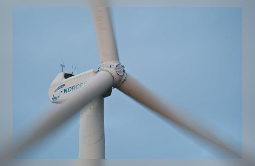 Pakri poolsaarele kerkis üheksa uut tuulikut
