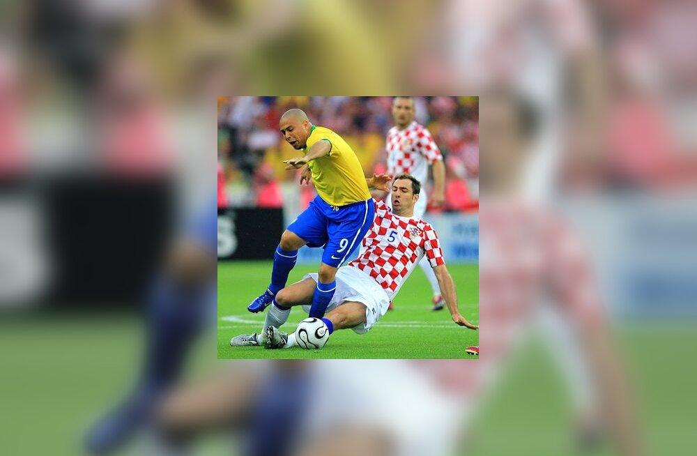 Brasiilia ründaja Ronaldo kohtumises Horvaatiaga